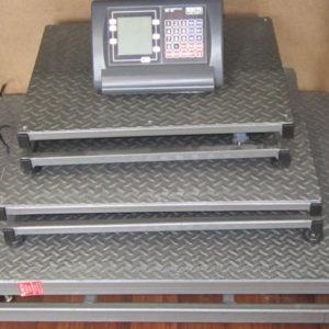 Весы платформенные,электронные ВНТЭ 300/600